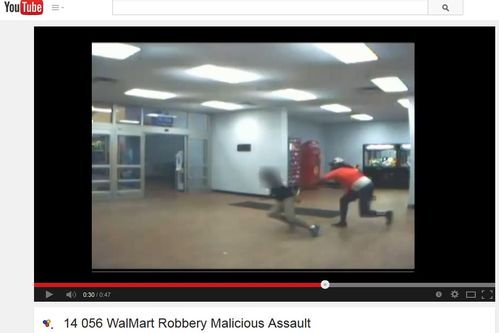 VIDEO | Walmart employee almost stabbed during robbery